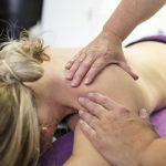 Rug, schouder en nek massage